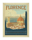 Florence, Italie Affiches par  Anderson Design Group