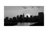 Panorama of NYC I Poster by Jeff Pica