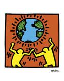 Pop Shop Kunstdrucke von Keith Haring