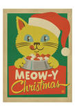 Meow-y Christmas Posters by  Anderson Design Group