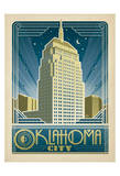 Oklahoma City Posters af Anderson Design Group