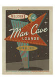 Vegas Man Cave Sign Prints by  Anderson Design Group