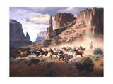 Sandstone and Stolen Horses Sztuka autor Jack Sorenson