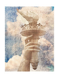 Distressed New York Premium Giclee Print by  Roozbeh