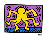 Pop Shop Lámina por Keith Haring