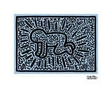 Ohne Titel Kunstdrucke von Keith Haring