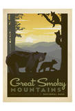 Great Smoky Mountains National Park Plakater af Anderson Design Group