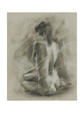 Charcoal Figure Study II Posters by Ethan Harper