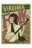 Virginia Folk Festival Posters af Anderson Design Group