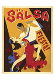 Salsa Fiesta Posters by  Anderson Design Group