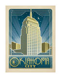 Oklahoma City Prints by  Anderson Design Group