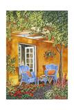 Tuscan Veranda II Premium Giclee Print by Carolee Vitaletti
