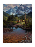 Ridin' the High Country Premium Giclee Print by Jack Sorenson