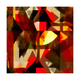 Burn Abstract 2 Premium Giclee Print by Amy Lighthall