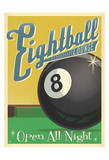 Eightball Lounge Posters af Anderson Design Group