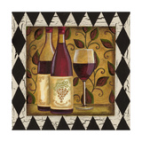 Harlequin and Wine I Reproduction giclée Premium par Carolee Vitaletti