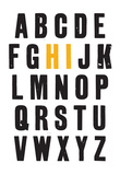 Friendly Letters Print