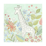 Nick's Animal Garden III Print by Megan Meagher