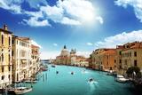 Grand Canal and Basilica Santa Maria Della Salute, Venice, Italy Photographic Print by Iakov Kalinin