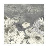 Flowers on Grey I Premium Giclee Print by Ingrid Blixt