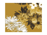 Golden Bloom I Premium Giclee Print by A. Project