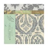 Paris Tapestry V Premium Giclee Print