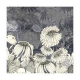 Flowers on Grey III Premium Giclee Print by Ingrid Blixt