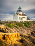 Point Loma Lighthouse in Cabrillo National Park, San Diego Photographic Print by  sborisov