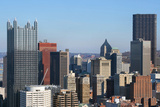 Pittsburgh's Skyline from Mount Washington Photographic Print by  Zigi