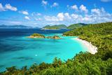 Trunk Bay, St John, United States Virgin Islands. Fotografie-Druck von  SeanPavonePhoto