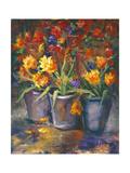 Flower Fiesta Posters av Nanette Oleson