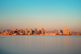 San Diego City Skyline and Bay at Sunset Prints by Songquan Deng