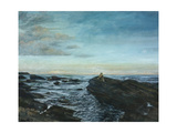 Sarah at Lunan Bay, 1998 Giclee Print by Margaret Hartnett