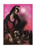 Judith and Holofernes (After Richard Libby), 2013 Giclee Print by Chris Gollon