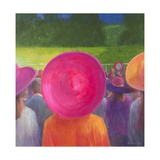 Finishing Post, Hats, 2014 Giclee Print by Lincoln Seligman
