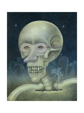 Skellybones and Grubsteak Giclee Print by Wayne Anderson