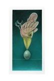 Balancing Bird Giclee Print by Wayne Anderson