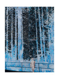 Forest-4 Hours of Daylight Giclee Print by Graham Dean