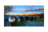 Kingston Bridge 2013 Giclee Print by Lee Campbell