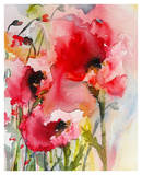 Summer Poppies Print by Karin Johannesson