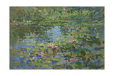 Waterlilies Giclee Print by Susan Ryder