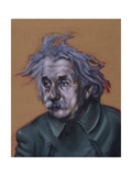 Einstein (II) 2004 Giclee Print by Chris Gollon