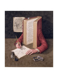 The Illustrator, 2005 Giclee Print by Jonathan Wolstenholme