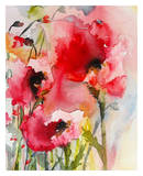 Summer Poppies Prints by Karin Johannesson