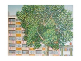 Canning Town Summer Giclee Print by Noel Paine