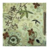 Floral Fantasies 3 Print by Aleah Koury