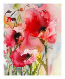 Summer Poppies Art by Karin Johannesson