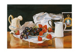 Strawberries and Cream, 2004 Giclee Print by Terry Scales