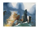 Standing Stones Giclee Print by Gloria Wallington