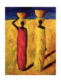 Calabash Girls, 1991 Giclee Print by Tilly Willis